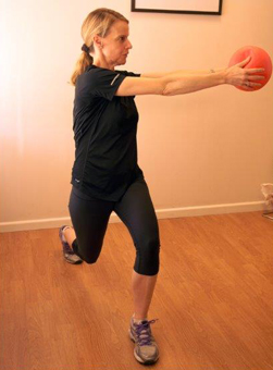 Rotating Lunge