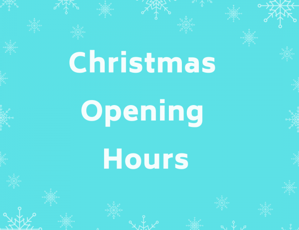 Go to Christmas 2019 Opening Hours