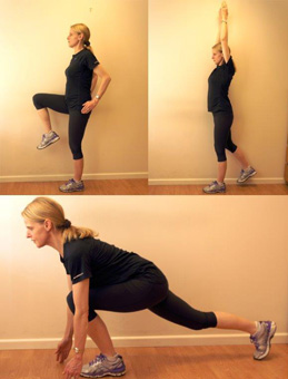 Posterior Lunge Touch